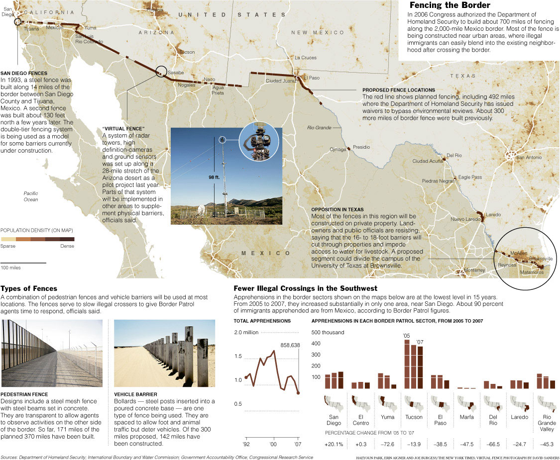 Border Fence Map Jorsett Border Fence Mexican Borders Map The Us – Map of the Us and Mexico